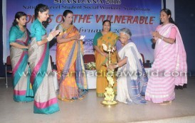 """Two-day national seminar Spandana """"Voices of the Vulnerable"""" at Roshni Nilaya College"""