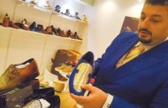 24-carat gold shoes in Dubai for Dh75,000