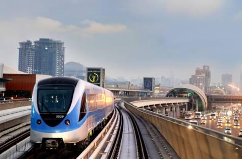 Fashion show on Dubai Metro on Wednesday