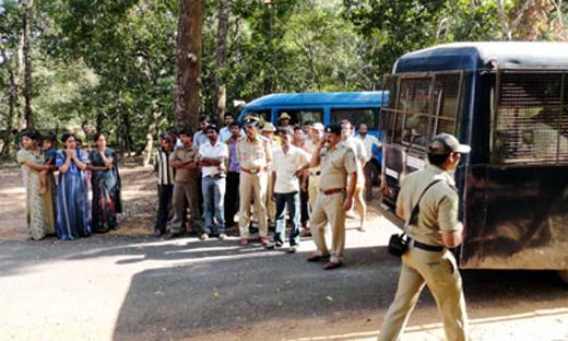 Adiga murder case: Accused brought to Vandaru locate kidnap spot
