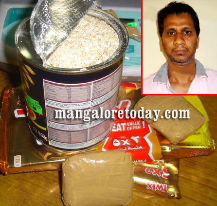 Mangalore: Now, gold found in oats tin at Airport, Bhatkal man arrested