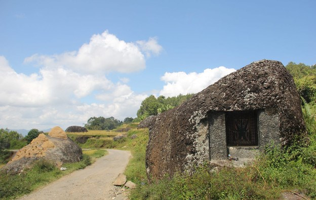 stone-hut