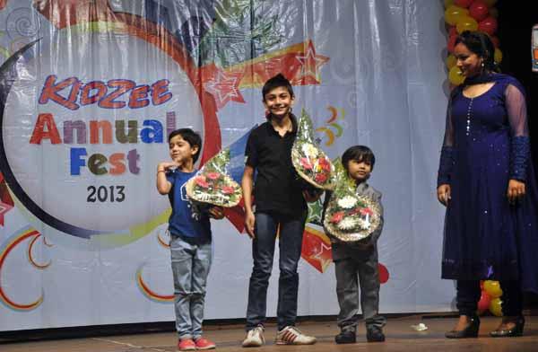 12_RZ_Kids from 'India's Best Dramebaaz' atttend the 10 year celebration of Kidzee