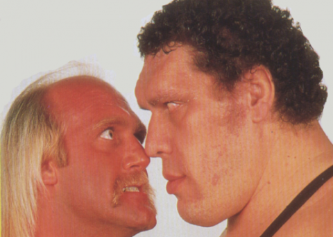 Hogan vs. Andre Illegal Foreign Object