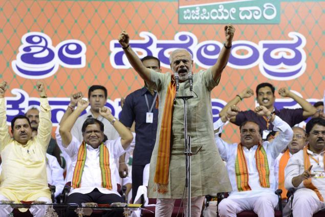Karnataka - Modi2