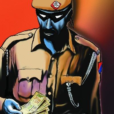 32 cops caught taking bribe, suspended