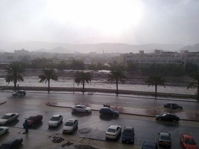 Oman-Muscat-raining