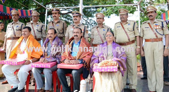 Police Flag Day Observed with ferver; Retired Personnel Honoured