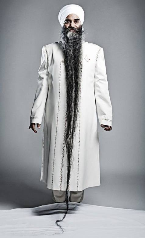 Sarwan-Singh-longest-beard
