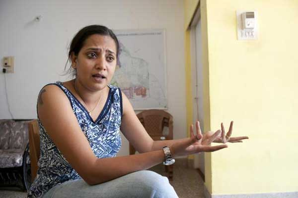 Victoria D'Souza is the campaign manager for Meenakshi Bharath, the Lok Satta Party candidate for the Malleswaram constituency of Bangalore.
