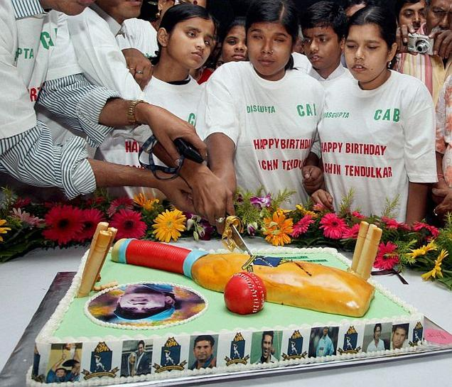 Birthday Cake Images Sachin : Tendulkar turns 40, thanks fans for  unconditional love ...