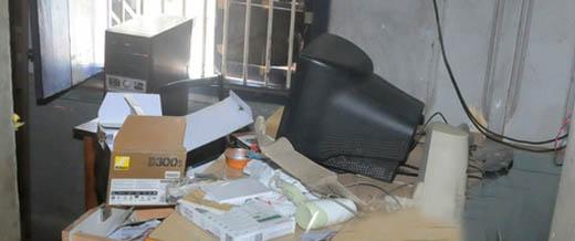 studio burgled