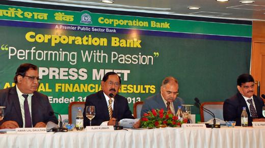 Corporation Bank 8may13