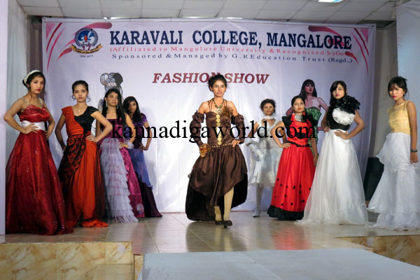 Spectacular Fashion Show By Karavali College Students Kannadiga World