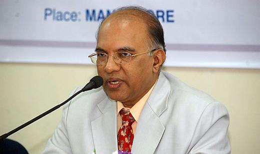 Karnataka Bank Chairman 15mar13