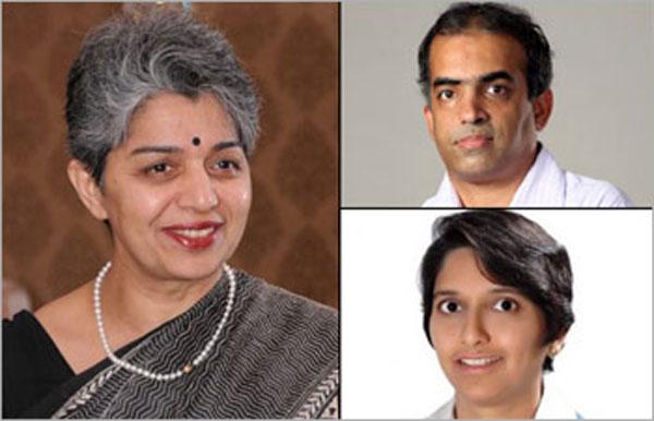 Meenakshi-Bharath,-Ashwin-Mahesh-and-Shanthala-Damle