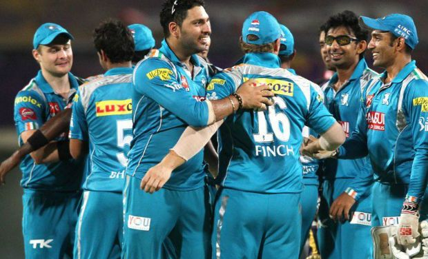 KKR loses to Pune by seven runs