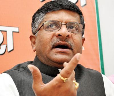 Senior-BJP-Leader-Ravi-Shankar-Prasad