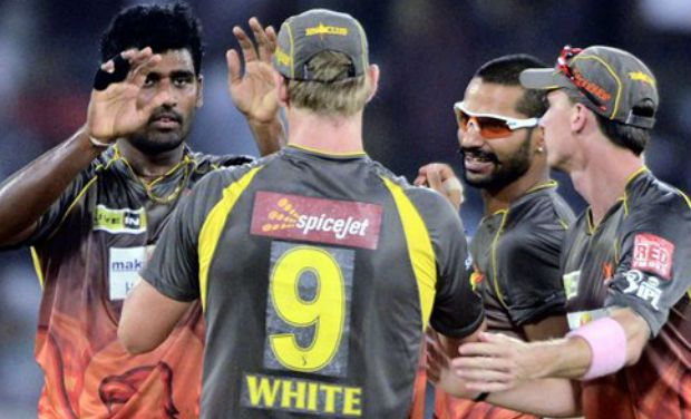 Sunrisers beats KKR to enter play-offs