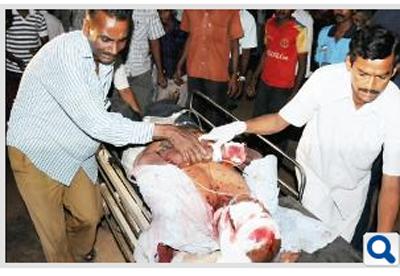 madugiri court blast