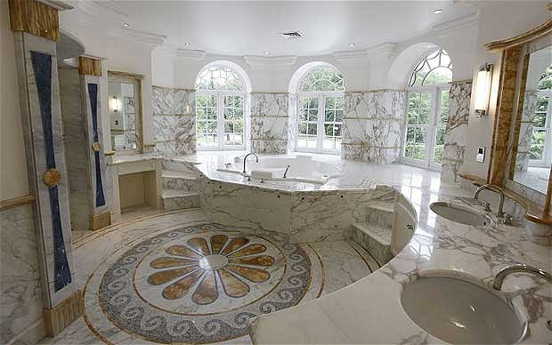 15 most expensive homes in the world kannadiga world for Biggest home bathroom in the world