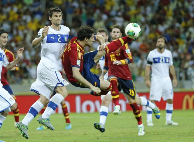 Spain beat Italy 7-6 in Confederations Cup penalty drama
