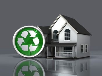 how to go green at home