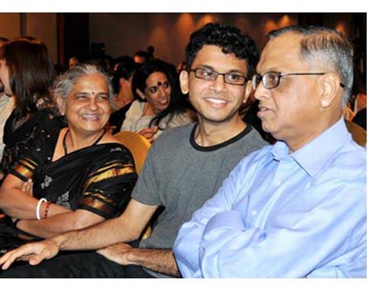 narayana murthy family
