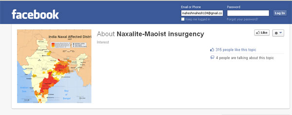 naxal-facebook