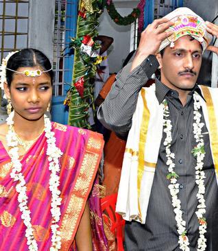 Kalamma Pooja and Satish