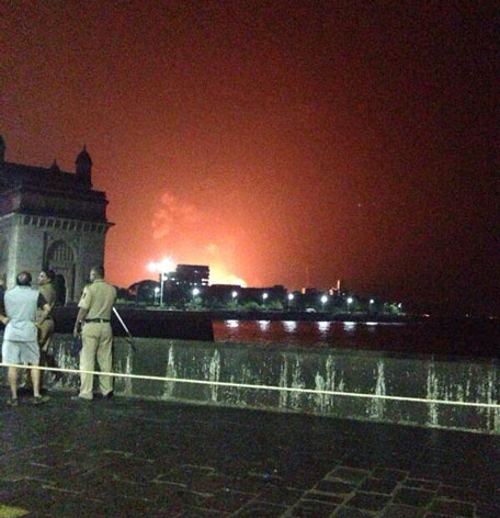 Indian Navy submarine catches fire  18 sailors feared trapped insideIndian Navy Submarine