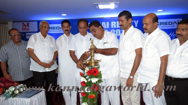 The District In charge Minister Ramanatha Rai Inaugurates the CREDAI Realty Expo – 2013