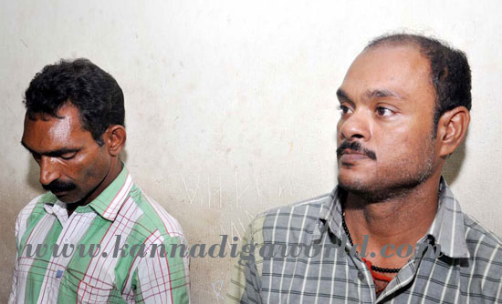 Gaanja transportation: two people arrested and 46kgs of Gaanja seized