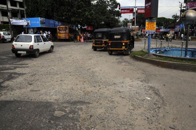 Udupi_Manipal_worst road