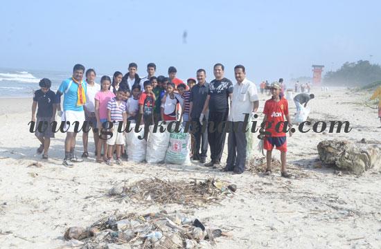 Beach cleaning campaign at Panambur