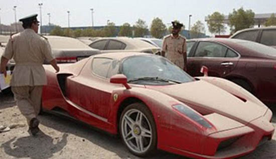 Auto Garage For Sale Dubai: Police Officer 're-sold' Abandoned Cars In Dubai To Clear