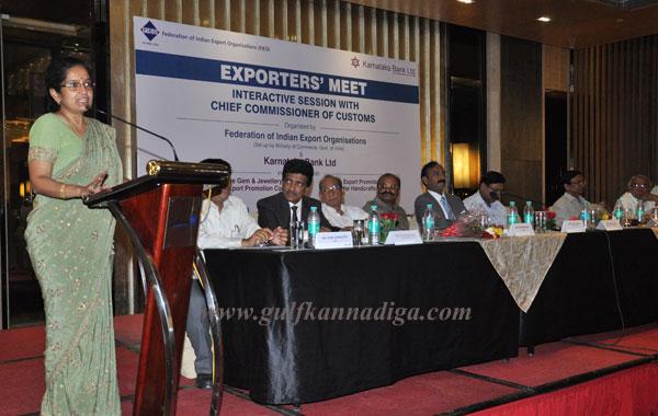 Karnataka Bank Ltd and Federation of Indian Export Organization Organized Exporters' Meet at Jaipur