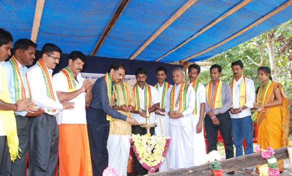 """A Rural Sports Programme """"Bolmada Kandodonji Dinatha Gammath"""" at Konaje"""