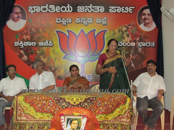 BJP Mahila Morcha celebrates Sister Niveditha's birth anniversary