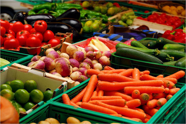 Two Tons of vegetables exported to Dubai
