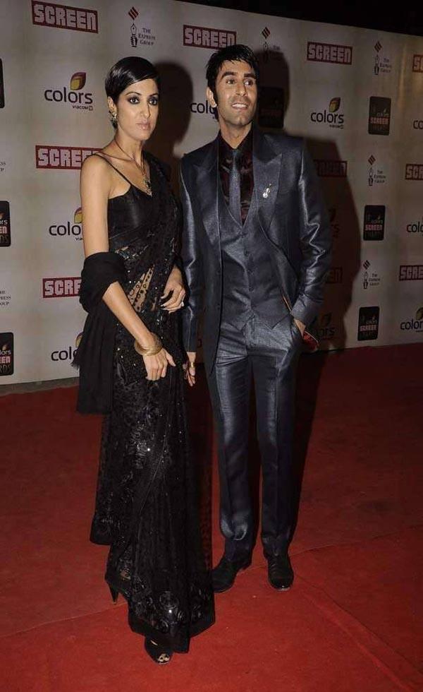 Sandip Soparrkar with her beautiful wife Jesse Randhawa