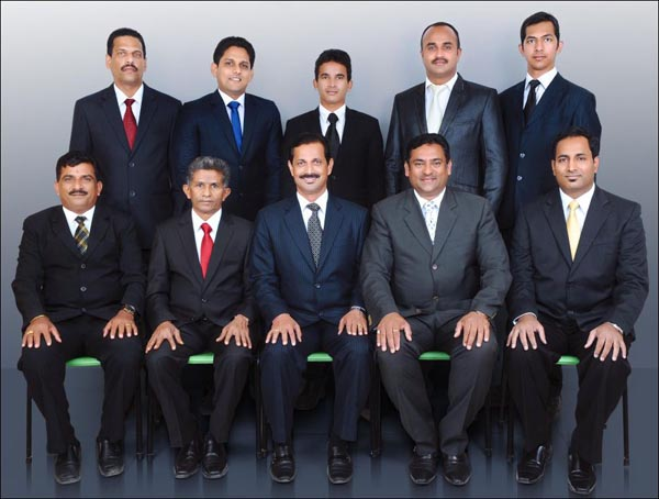 Bunts Bahrain Executive Committee 2013 – 14 headed by Bharath Shetty