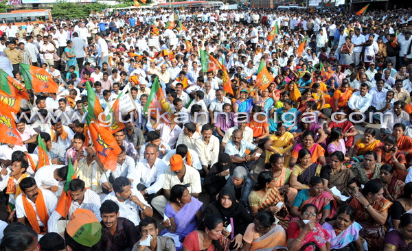 BJP_stage_protest_7