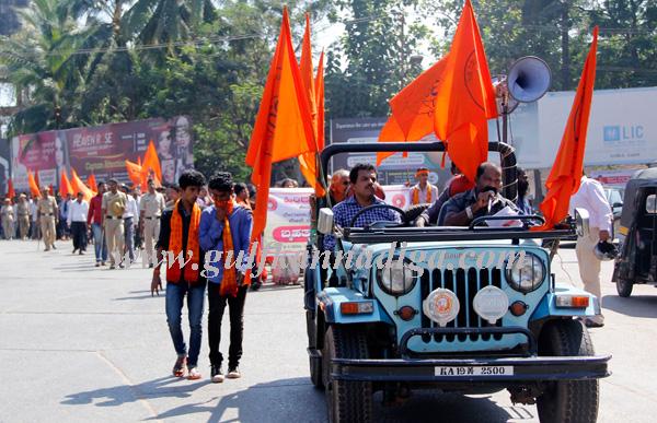 Hindu_yuva_sene_protest_8