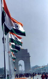 The 50th Republic Day in New Delhi