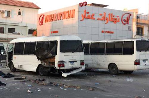 Policeman dies of injuries after Bahrain bus blast