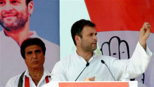 We don't believe in politics of anger: Rahul Gandhi at Saharanpur rally