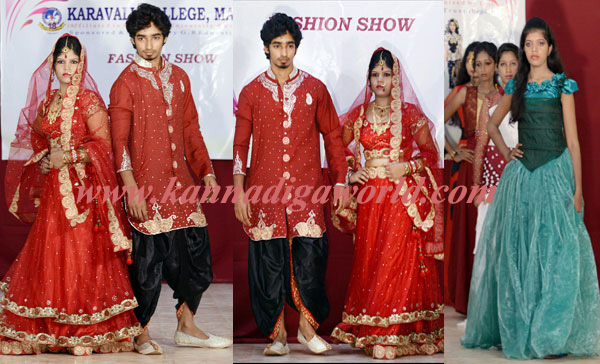 Young Designers Of Karavali College Display Their Creativity Fashion Show Kannadiga World