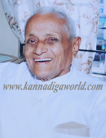 An end to the life of veteran freedom fighter Ammembal Balappa