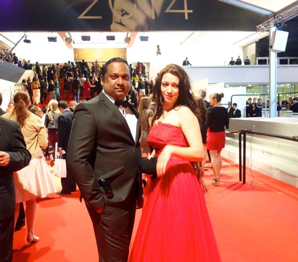 Rupesh Paul At Cannes1